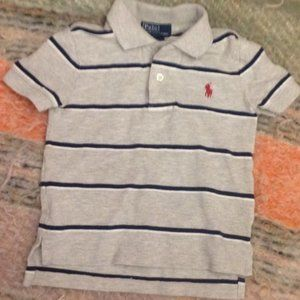 *2for$5 Ralph Lauren Polo Striped Polo Shirt 2T